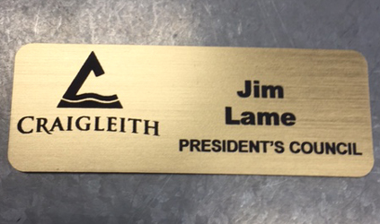 Name Plate Engraving