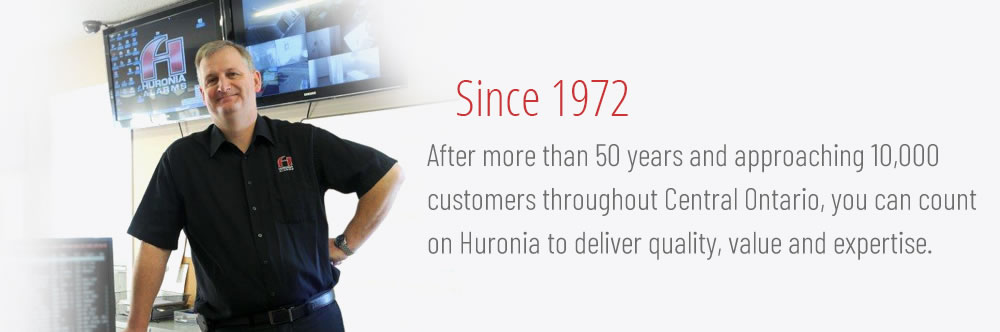 HURONIA ALARMS - Home Security Systems, Home Alarm Systems & Products, Home Audio/Visual System