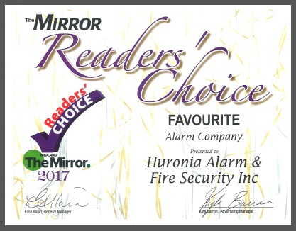 Huronia Wins Readers' Choice Award!