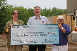 Huronia donates $25,000 to Georgian Bay General Hospital