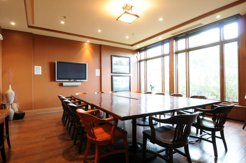 Audio video - conference room at Lora Bay Golf Club
